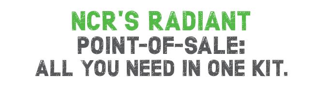 NCR Radiant