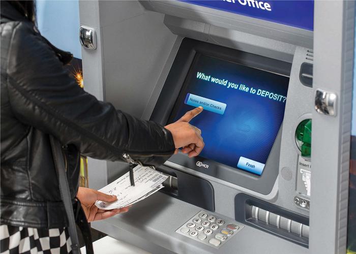 secu deposit check at atm