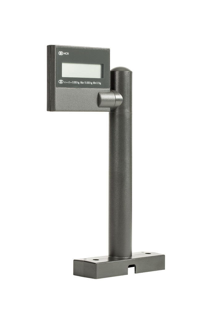 NCR Display 7825 Remote Scale front view