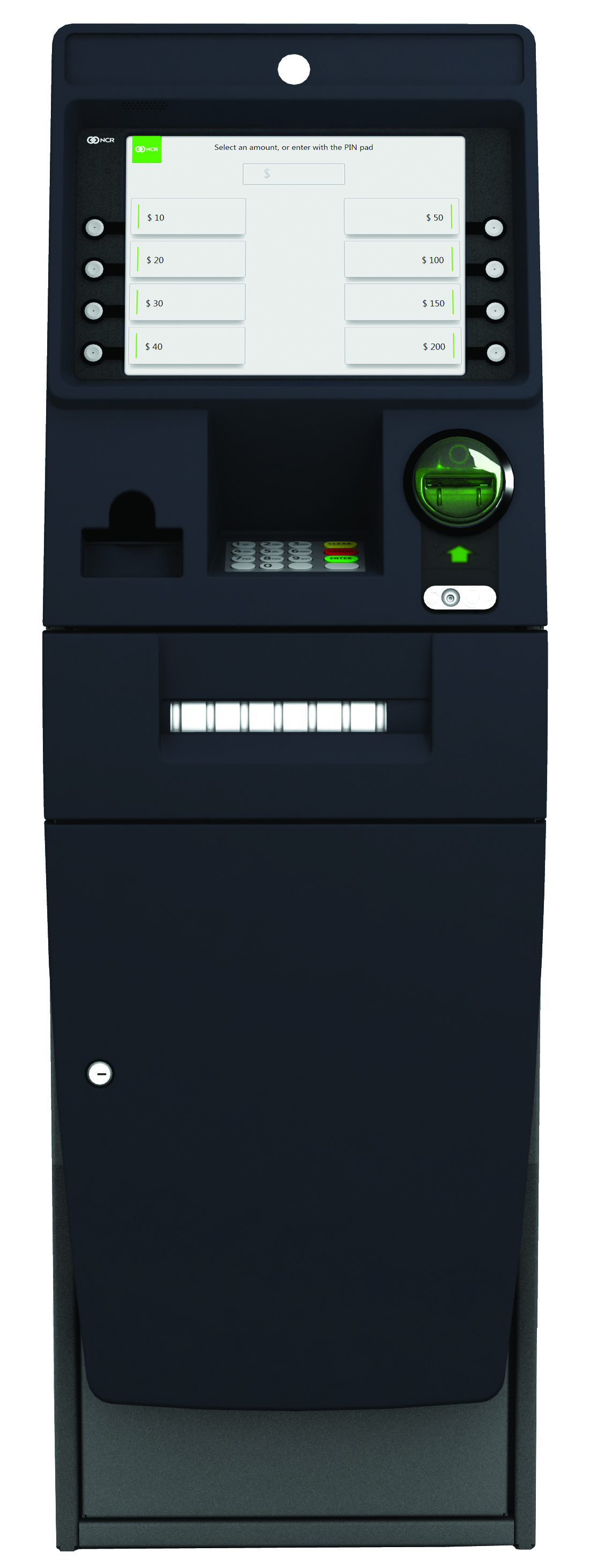 NCR SelfServ 22e is a compact interior cash dispense ATM, providing the perfect solution to connect consumers to cash.