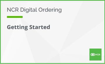 Digital Ordering Getting Started