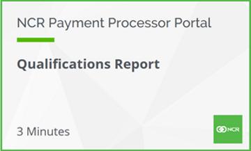Qualifications Report